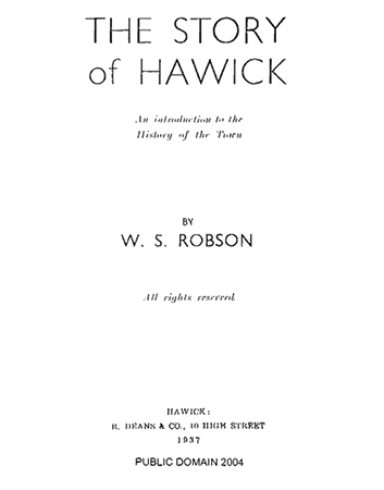 The Story of Hawick